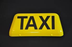 """Taxiskylt """"Euro"""" -gul"""