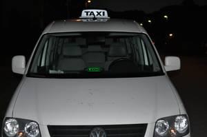LEDIG - skylt för taxi